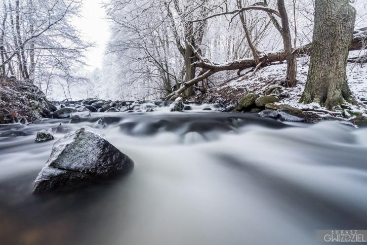 Zimowy strumień