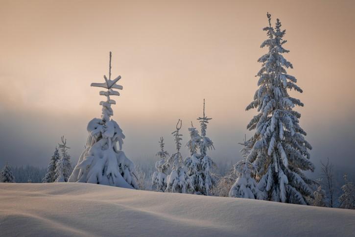 Gorczańska zima